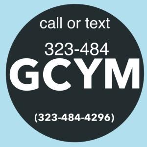 God Centered Phone Number 323-484-GCYM